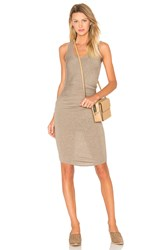 Riller And Fount Gia Dress Beige