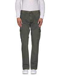 Yes Zee By Essenza Trousers Casual Trousers Men Military Green