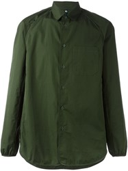 Oamc Classic Casual Shirt Green