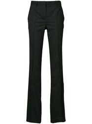 Versace Tailored Flare Trousers Black