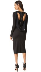 Antonio Berardi Long Sleeve Dress Black
