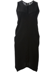 Lost And Found Cutout Hem Dress Black