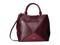 Vince Camuto Akua Satchel Plum Satchel Handbags Purple