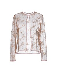 Mary Katrantzou Suits And Jackets Blazers Women Camel