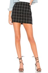 Bailey 44 Alexei Plaid Mini Skirt Black