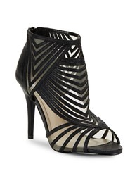 Caparros German Caged Heels Black
