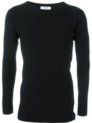 Ports 1961 Ribbed Knit Jumper Black