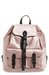 Rebecca Minkoff Alice Nylon Backpack Pink Dark Vintage Pink