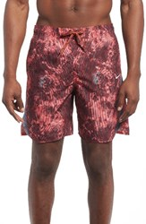 Nike Men's Swim Trunks Gym Red
