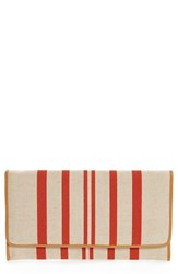 Shiraleah 'Mistral' Clutch Red