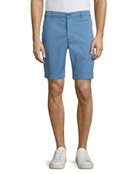 Ag Adriano Goldschmied Wanderer Cotton Shorts Salton Sky Blue Men's