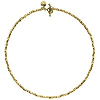 Dower And Hall Caraway Rice Necklace Gold