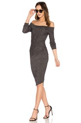 Riller And Fount Angelina Midi Dress Gray