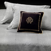 Roberto Cavalli Ocelot Duvet Set Grey Super King