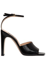 Sergio Rossi 105Mm Brushed Leather Sandals