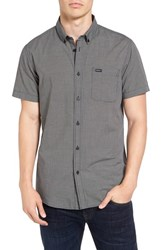 Rvca Men's 'That'll Do' Trim Fit Microdot Woven Shirt