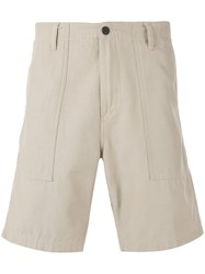 Carhartt Long Pockets Bermudas Men Cotton Polyester 34 Nude Neutrals