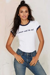 Nasty Gal Danielle Guizio Forever Until The End Tee
