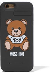 Moschino Silicone Iphone 6 Charging Case Black