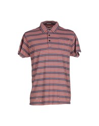 Scotch And Soda Topwear Polo Shirts Men Coral