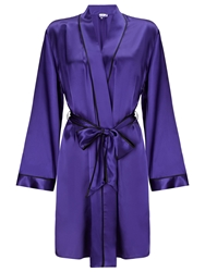 Alice By Temperley Somerset By Alice Temperley Silk Kimono Robe Royal Blue