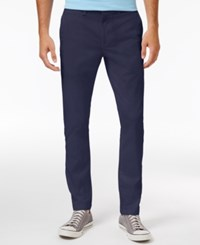 American Rag Men's Stretch Chino Pants Only At Macy's Dark Ink