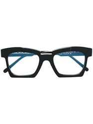 Kuboraum Square Glasses Black