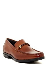 Stacy Adams Nevan Moc Toe Braided Loafer Brown