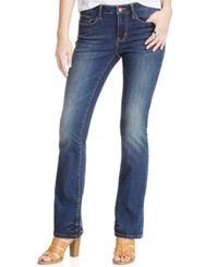 American Rag Barely Bootcut Jeans True Blue Wash Only At Macy's Skyra Wash