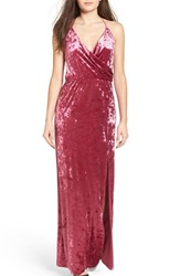 Leith Women's Velvet Maxi Slipdress