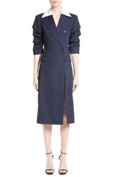 Michael Kors Women's Wool And Silk Coat Dress