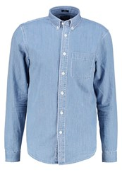 Abercrombie And Fitch Slim Fit Long Sleeved Top Blue Blue Denim