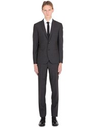 Manuel Ritz Slim Fit Micro Houndstooth Wool Suit