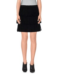 Lanvin Skirts Mini Skirts Women Black