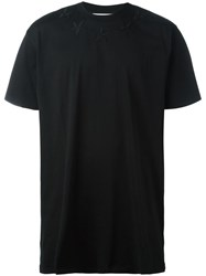 Givenchy Columbian Fit Star Embroidered T Shirt Black