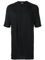 Lost And Found Ria Dunn Folded T Shirt Black