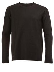 Kazuyuki Kumagai Long Sleeve Knit Sweater Black
