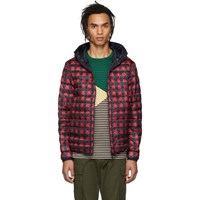 Moncler Reversible Navy And Red Down Oise Jacket
