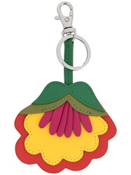 Paul Smith Ps By Flower Keyring Multicolour