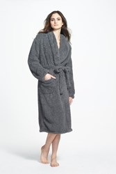 Giraffe At Home 'S Chenille Robe Charcoal