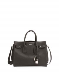 Saint Laurent Small Carryall Leather Bag