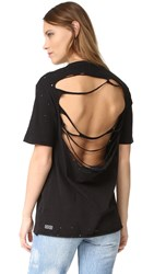 Ksubi Back Off Tee Black