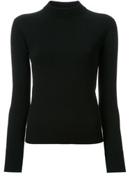 Christophe Lemaire High Neck Jumper Black