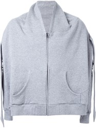 Anrealage 'Pilamid' Sports Jacket Grey
