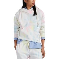 Nsf Lissette Tie Dyed Cotton Terry Surplice Hoodie Multi