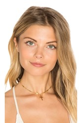 Frasier Sterling Confessions Choker Metallic Gold
