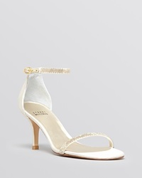 Stuart Weitzman Open Toe Evening Sandals Strobe
