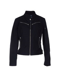 Piquadro Jackets Dark Blue
