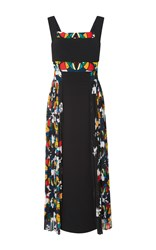 Bibhu Mohapatra Stained Glass Printed Dress Black