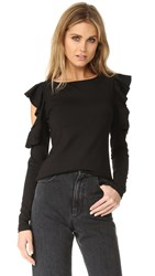 Susana Monaco Zoey Top Black